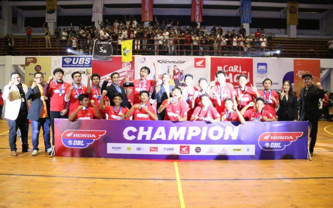TIM Basket Jeumpa Puteh Berjaya di DBL Aceh Series 2019